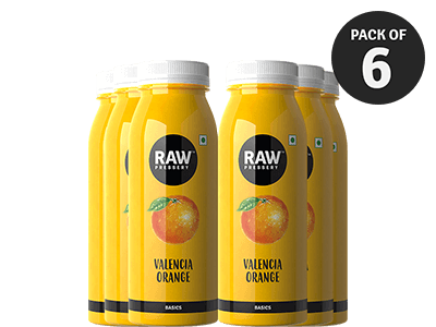 Valencia Orange 240ML - Pack Of 6