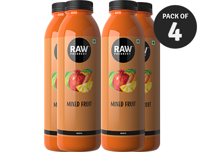 Mixed Fruit (1L X 4)