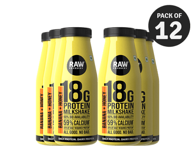 Protein Milkshake - Honey Banana (200 ML x 6)