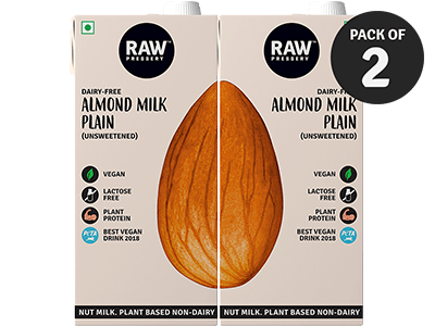 Unsweetened Almond Milk (1L X 2)